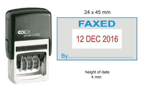 260D (FAXED)