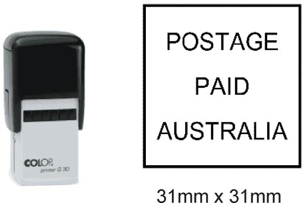 Postage Paid Australia (Self Inking)