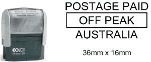 Postage Paid Off Peak Australia (Self Inking)